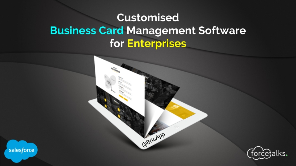 Customised Business Card Management Software for Enterprises