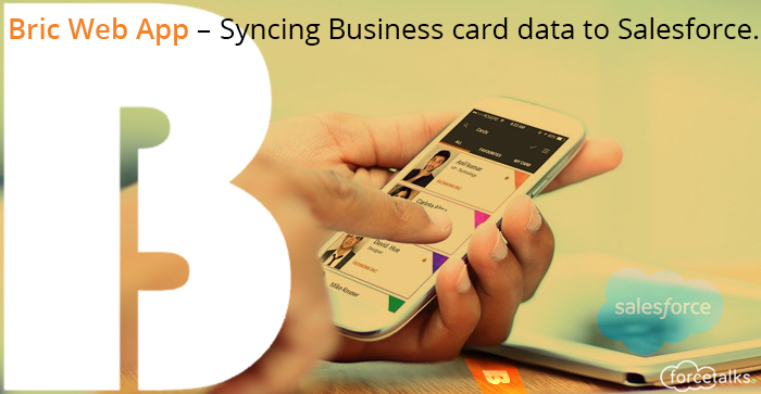 Syncing Business card data to Salesforce
