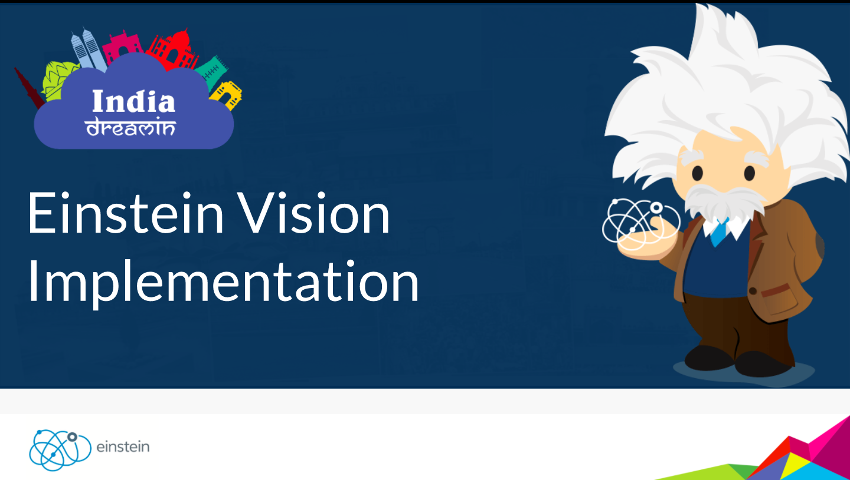 Salesforce Einstein Vision Implementation – India DreamIn17 Presentation - Code