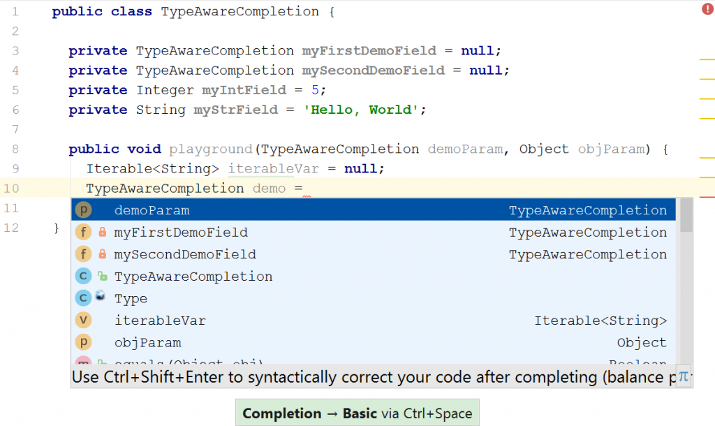 type-aware-completion