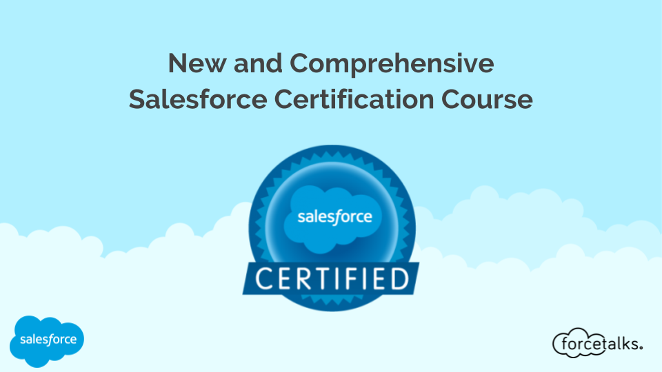 New and Comprehensive Salesforce Certification Course%0A