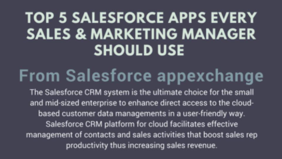 salesforce apps