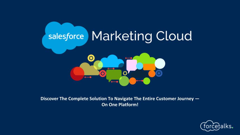 Salesforce Product - Marketing Cloud