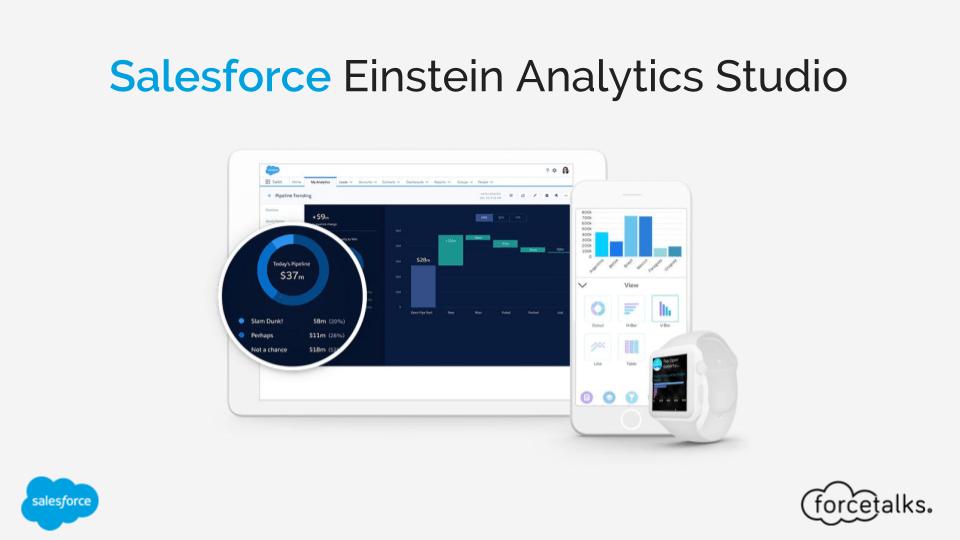Salesforce Einstein Analytics Studio