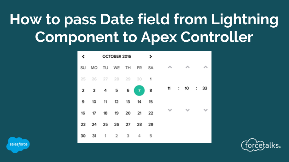 How to pass Date field from Salesforce Lightning Component to Apex Controller