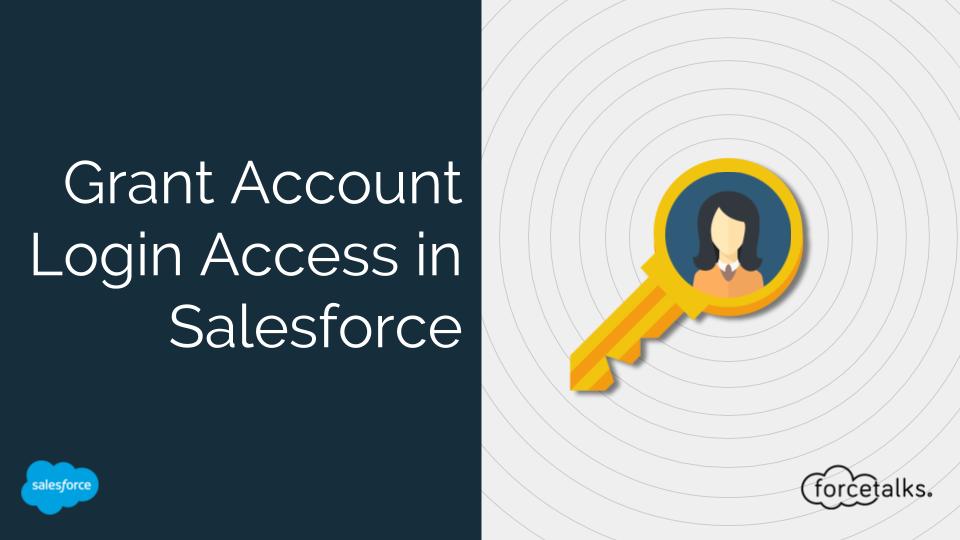 Grant Account Login Access in Salesforce