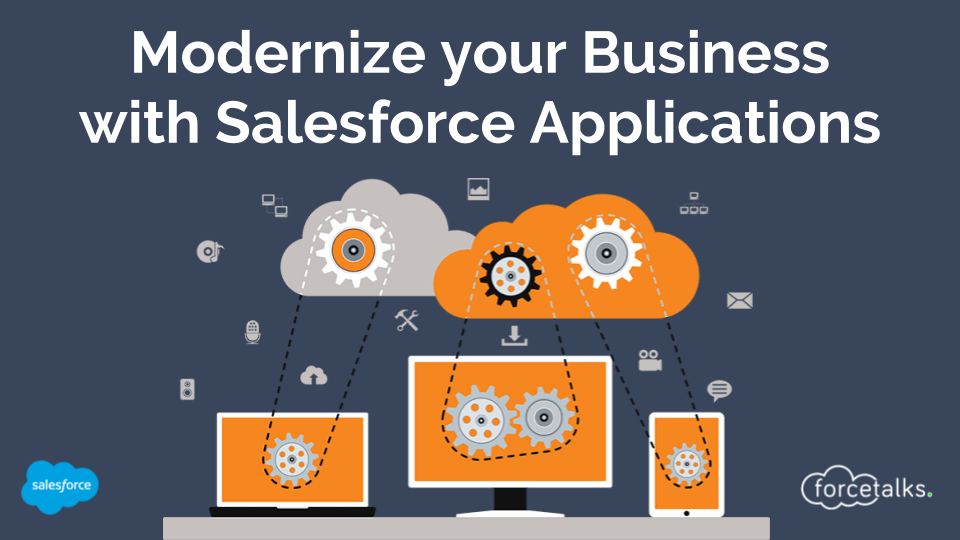 Modernize your Business with Salesforce Applications