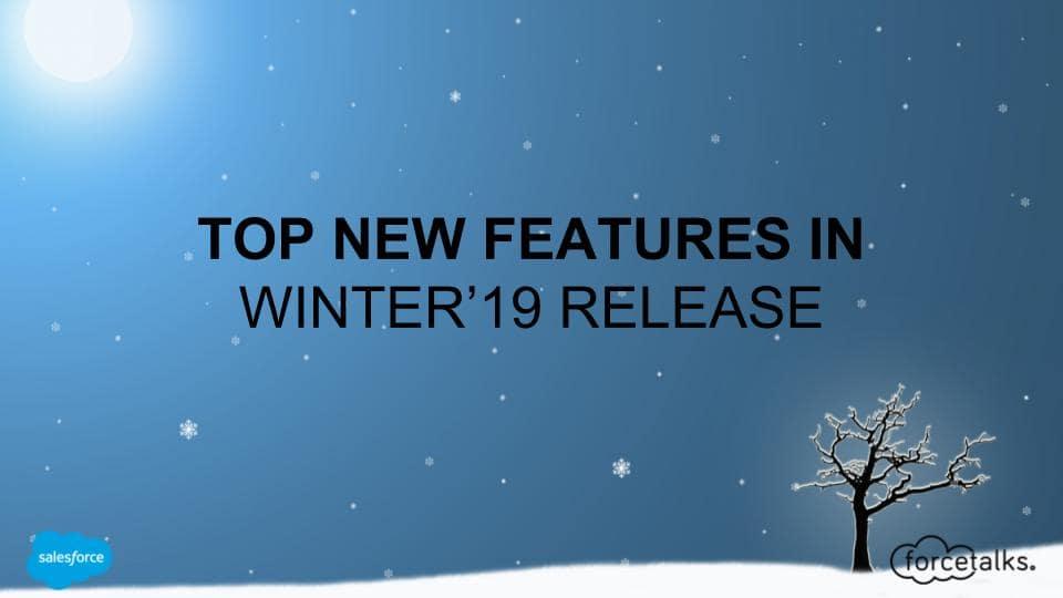 Salesforce-Winter-Realease-19
