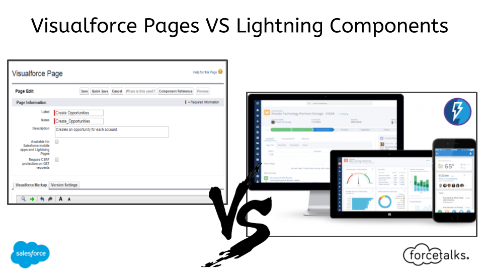 Visualforce Pages vs Lightning Components