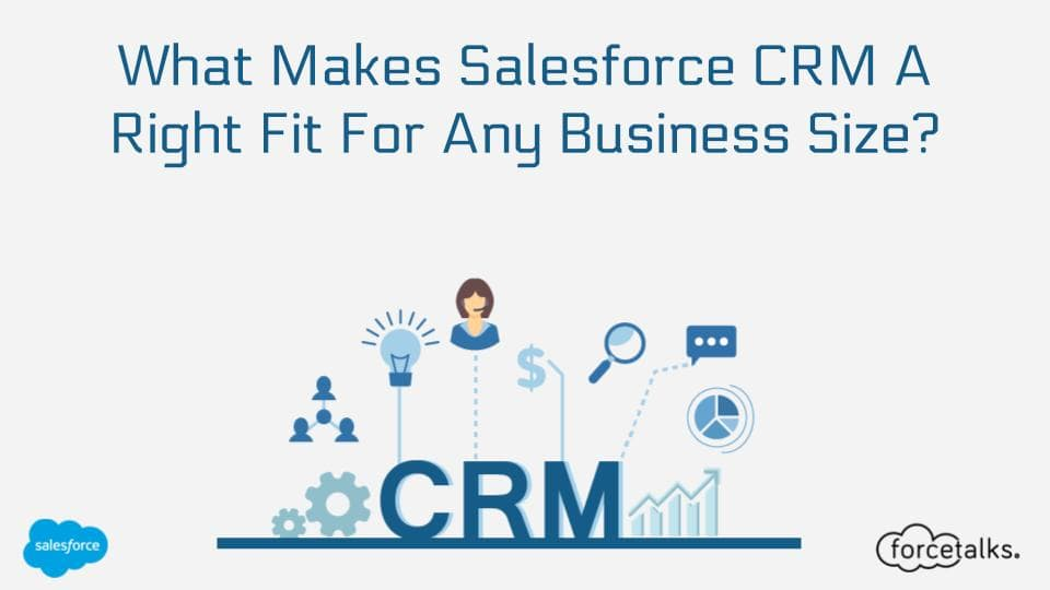 What Makes Salesforce CRM A Right Fit For Any Business Size?
