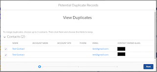 view duplicate reports