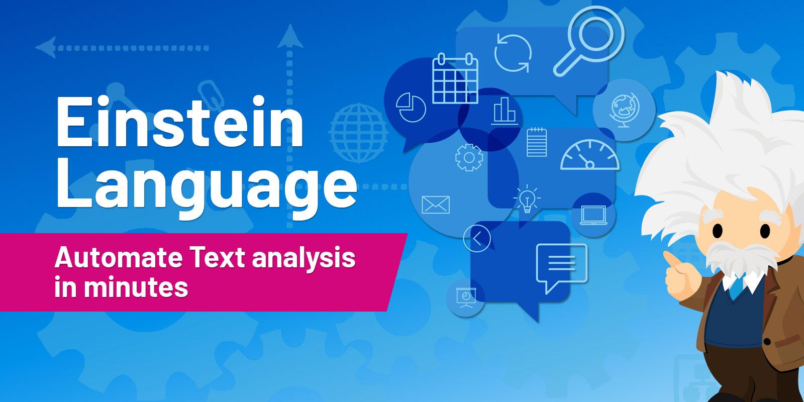 Salesforce Einstein Language