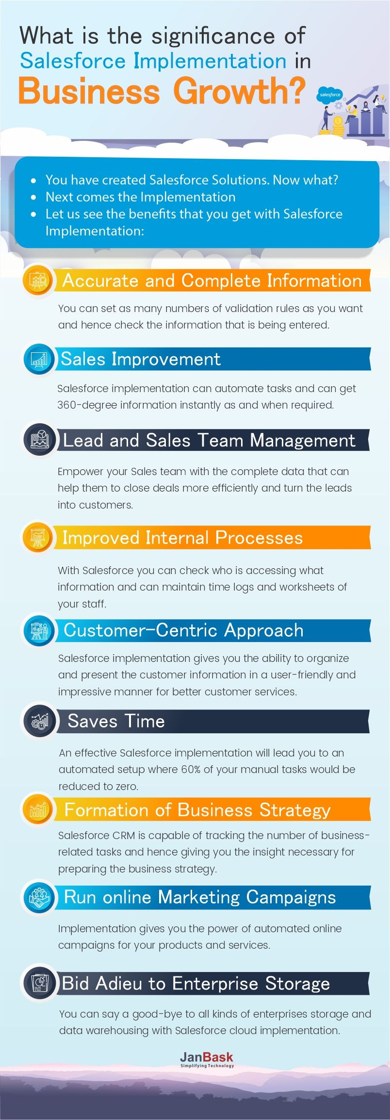What is the Significance of Salesforce Implementation in Business Growth?