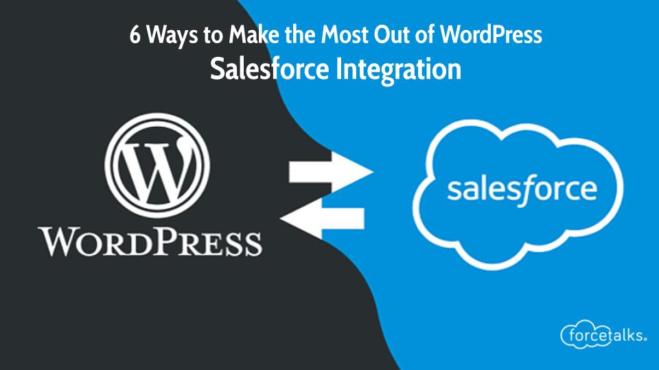 wordpress and salesforce