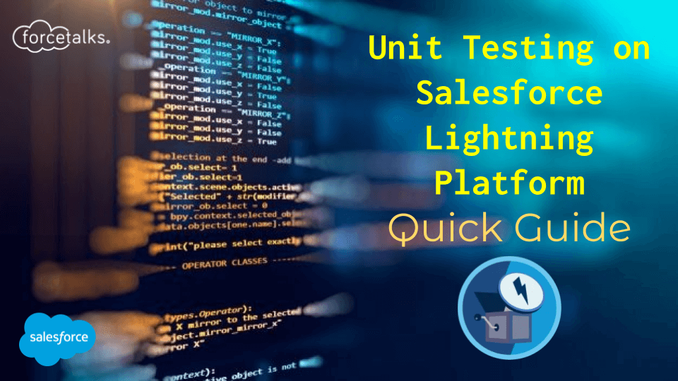 unit testing in lightning