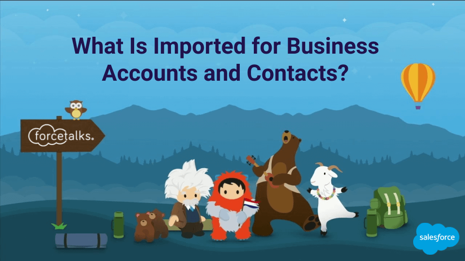 Imported for Business Accounts