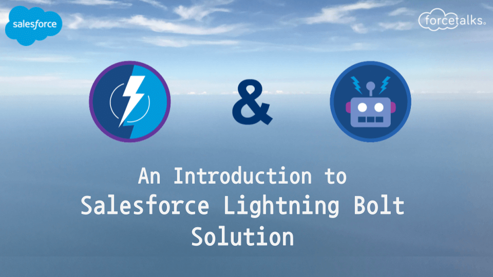 salesforce lightning bolt