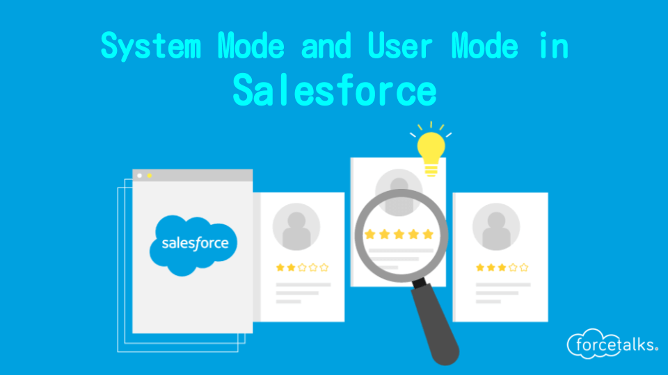 system mode in Salesforce
