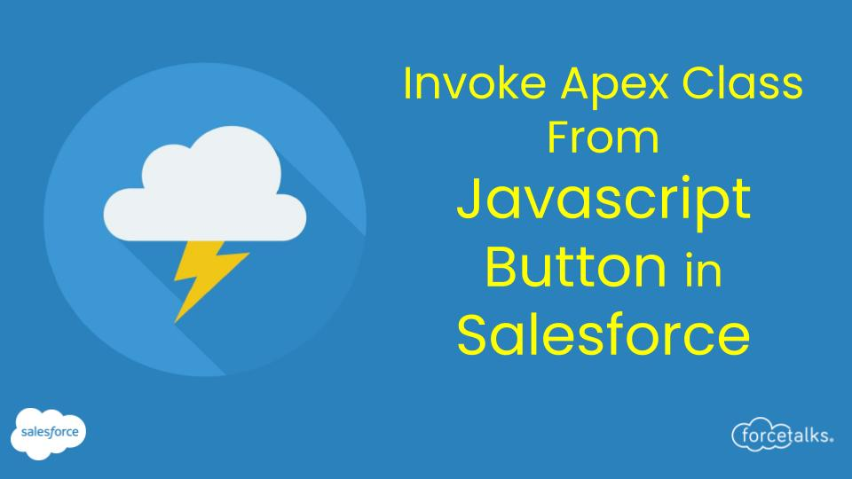 javascript button in salesforce