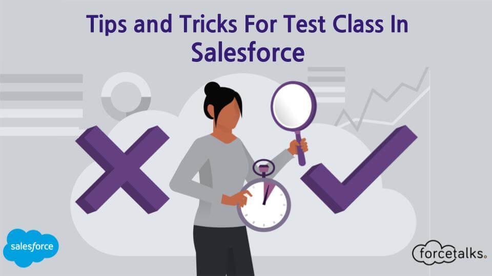 test class in salesforce