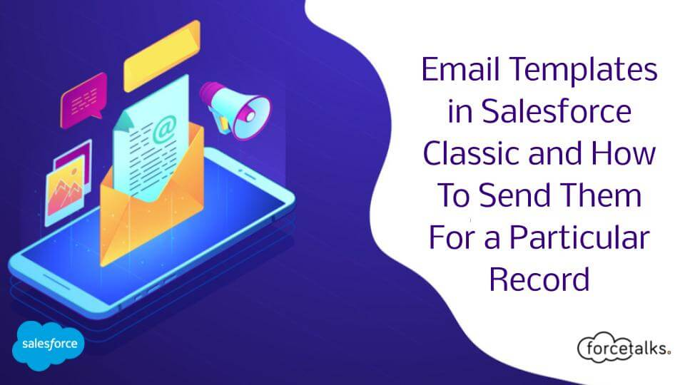 Email Templates in Salesforce