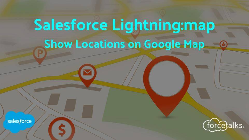 Salesforce Lightning map