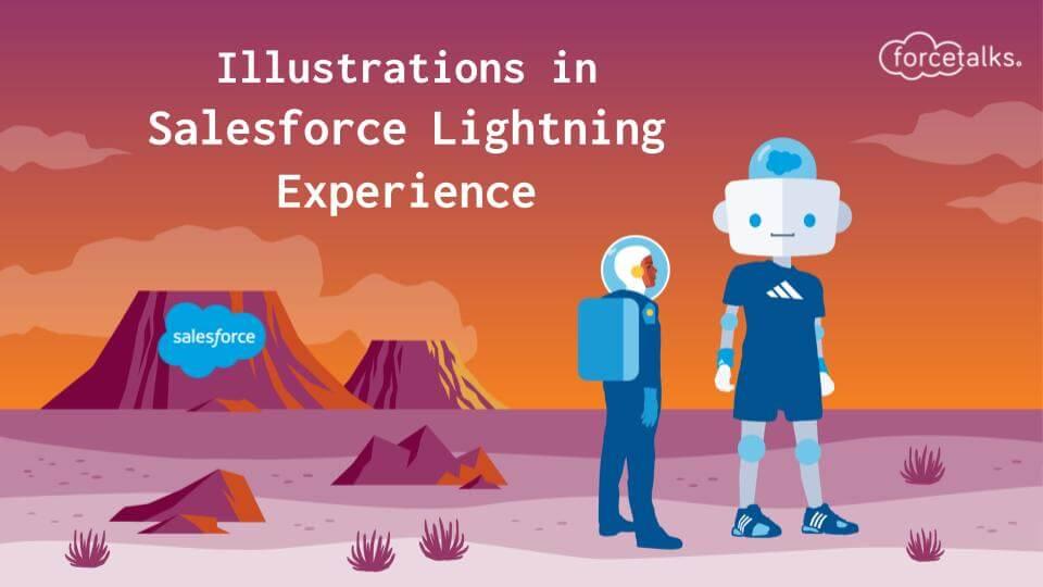 Illustrations in Salesforce
