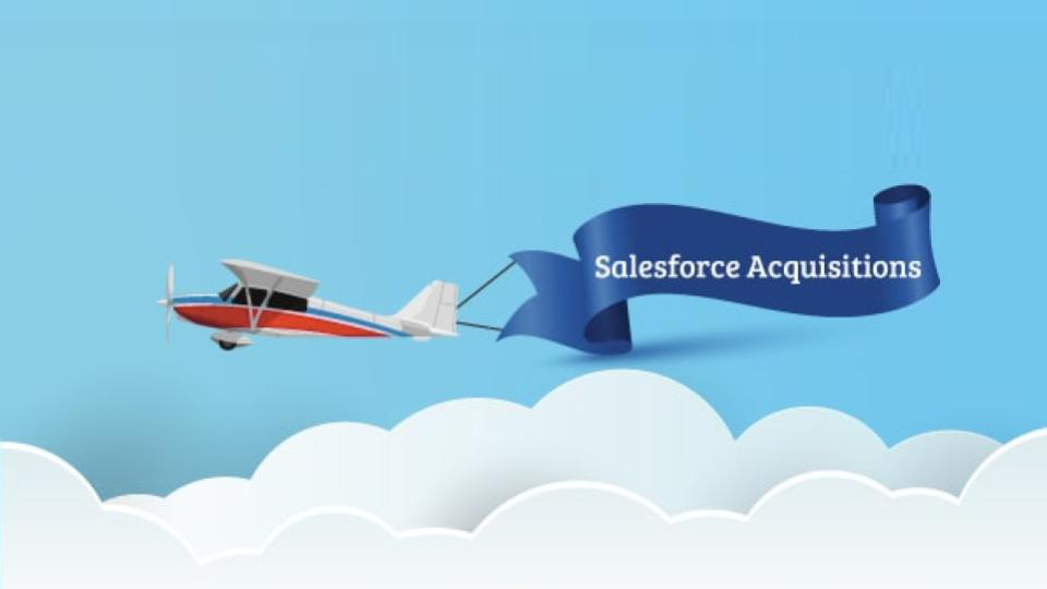 salesforce aquisitions