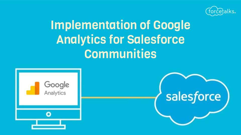 Google Analytics for Salesforce Communities