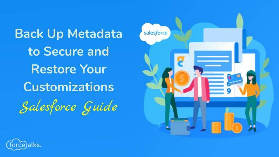 Back Up Metadata