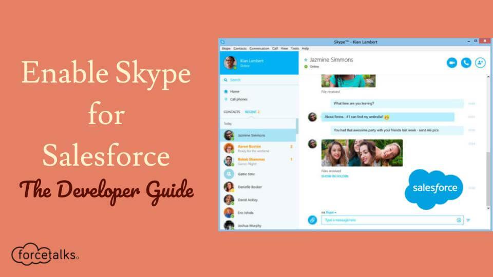 skype for salesforce