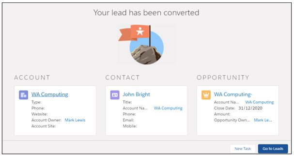 convert lead