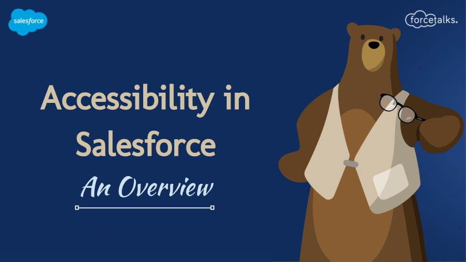 Accessibility in Salesforce