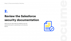 salesforce appexchange security review documentation