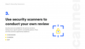 salesforce security scanners