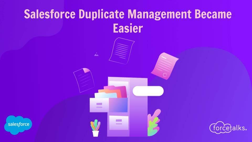 Salesforce Duplicate Management