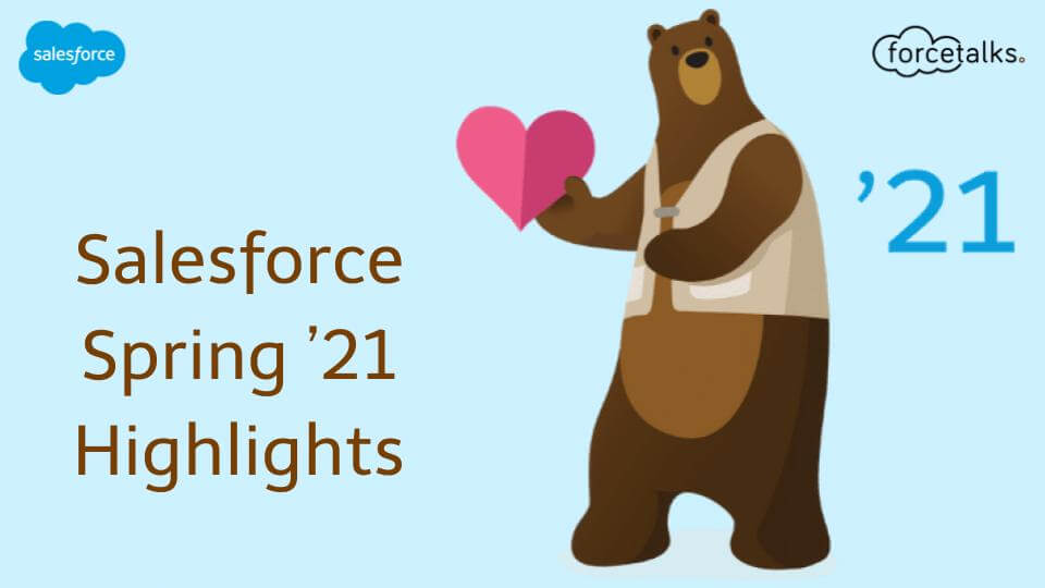 Salesforce Spring 21