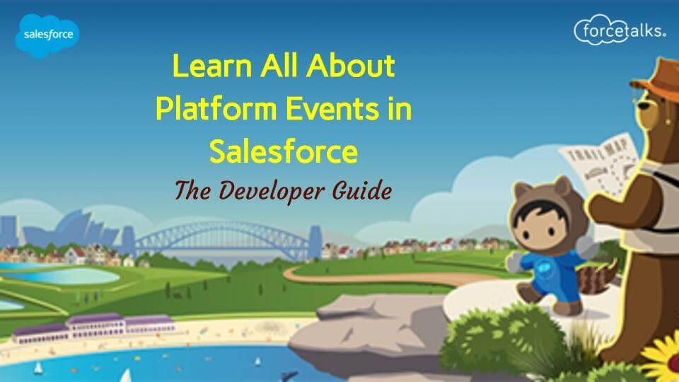 Platform Events in Salesforce