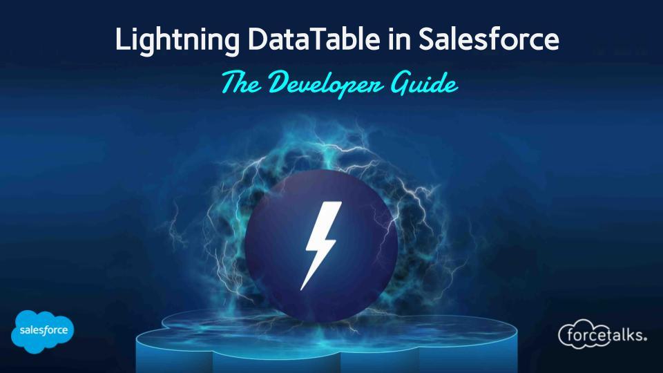 Lightning DataTable