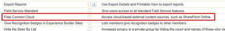 Files Connect Cloud