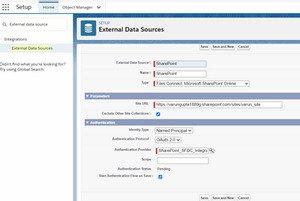 External Data Source