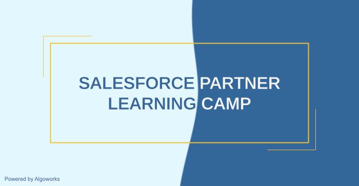 Salesforce Partner Learning Camp