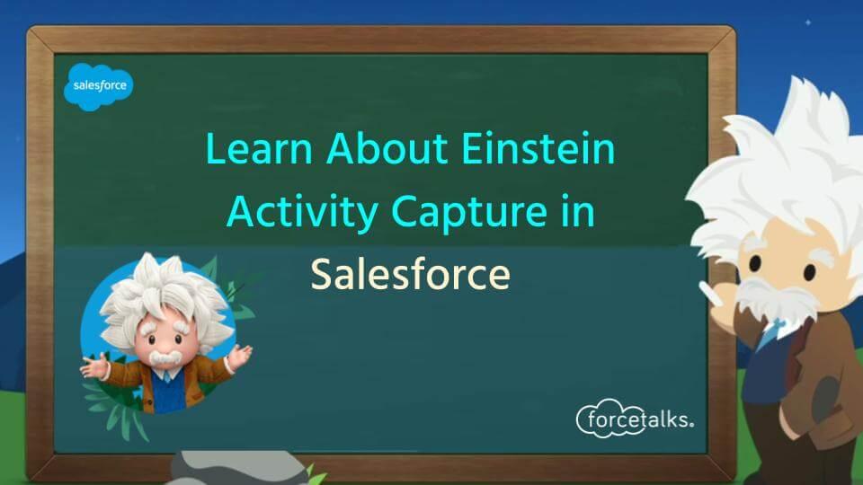 Einstein Activity Capture