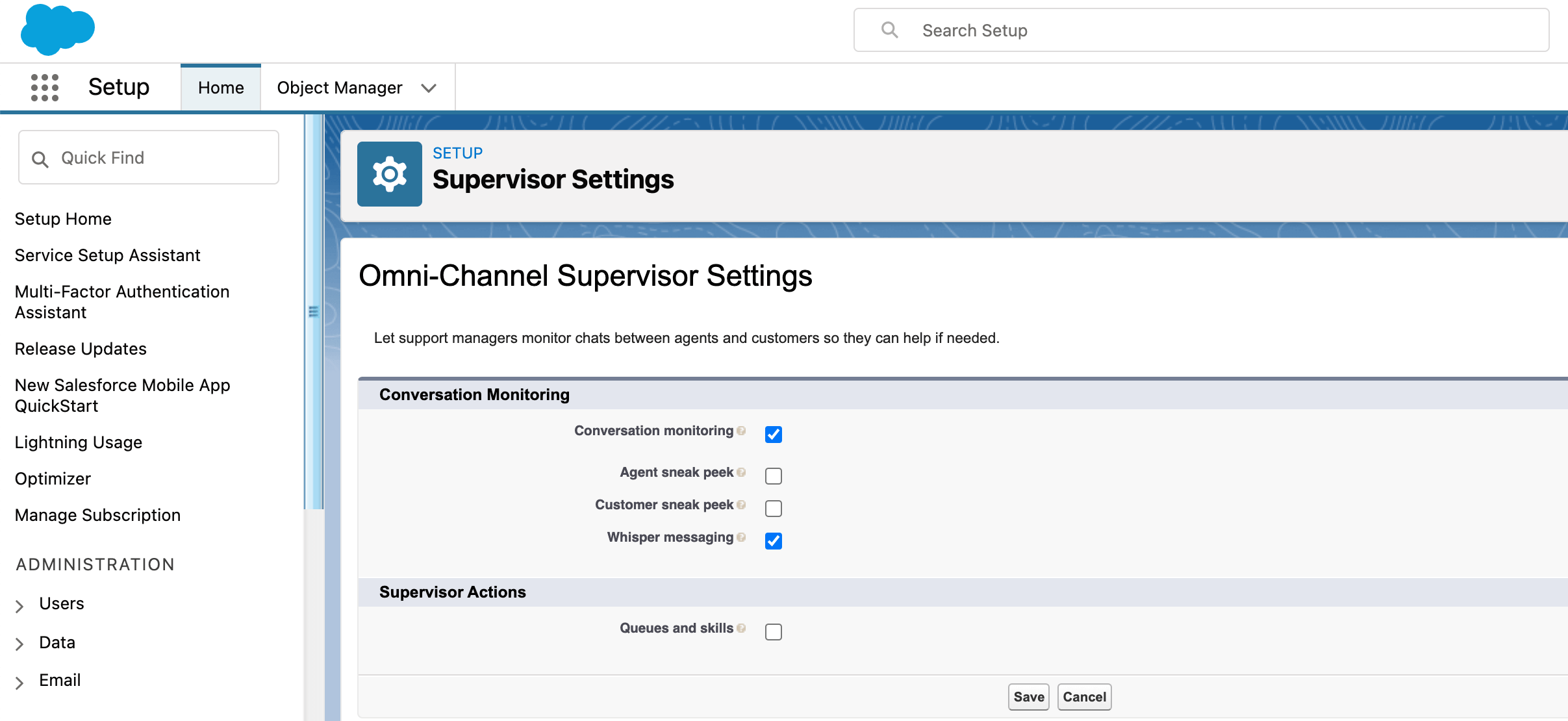 Omni-Channel Routing