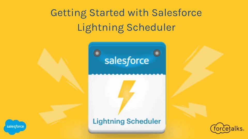 Salesforce Lightning Scheduler