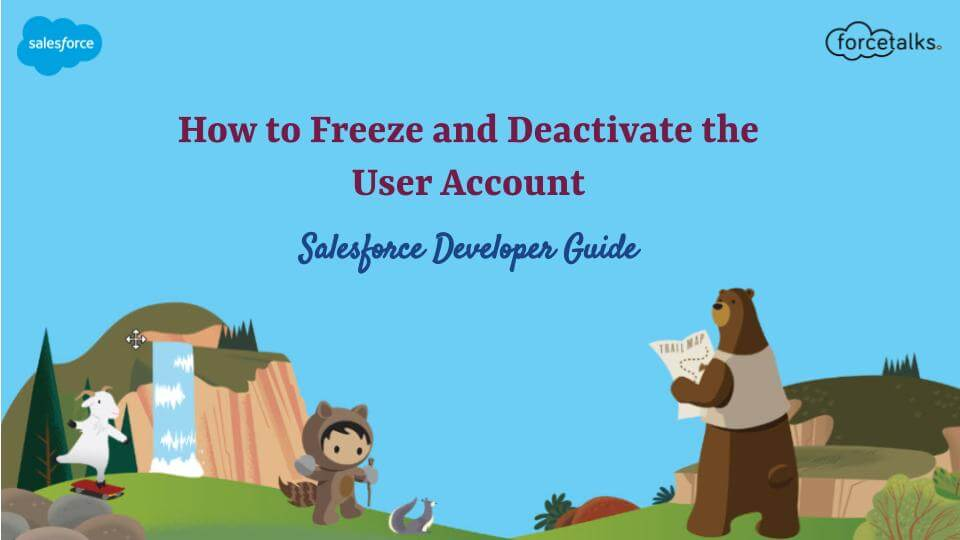 Freeze and Deactivate the User Account