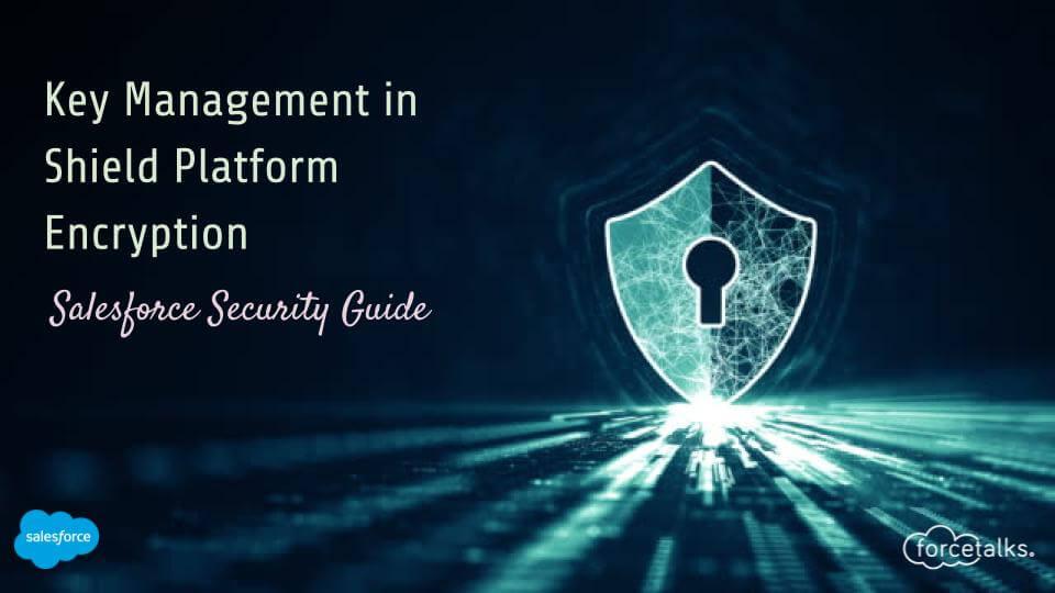 Shield Platform Encryption