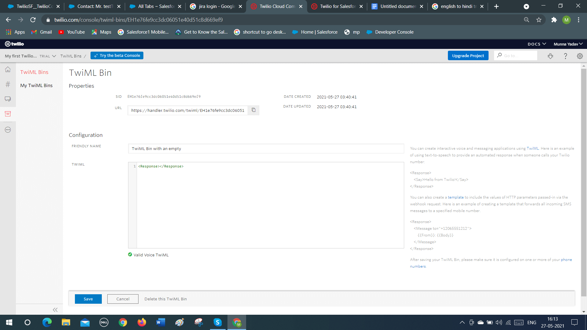 Connect to Salesforce