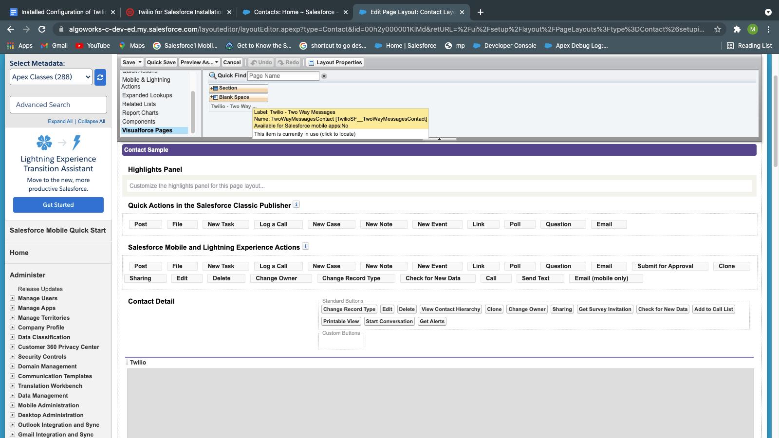 Salesforce Page Layout