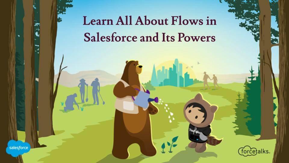Flows in Salesforce